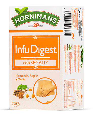 Packaging Hornimans InfuDigest Envase Hornimans InfuDigest